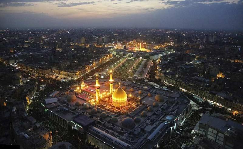 نوحه دوست دارم خاکم کنن در کربلا اقام حسین از روح الله ابوالحسنی