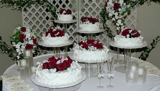 کیک عروسی با صدای حمیدرضا