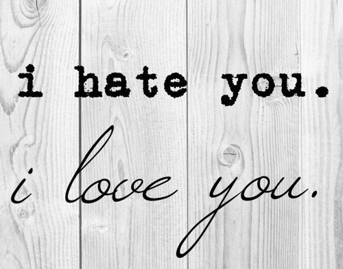 دانلود آهنگ i hate you i love you