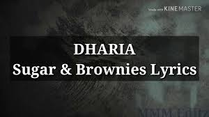 دانلود آهنگ Sugar Brownies از DHARIA + متن و ترجمه