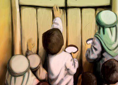 دانلود نوحه یتیما با ظرف شیر با صدای محمود کریمی